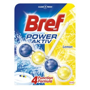 Bref WC Power Activ Lemon 50g
