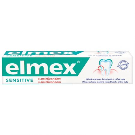 Elmex zubná pasta 75ml Sensitive