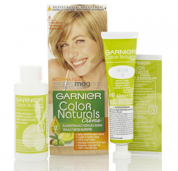 Garnier Color Naturals Farba Na Vlasy 40ml C 8 Svetla Blond Magano Sk