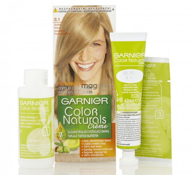 Garnier Color Naturals Farba Na Vlasy 40ml C 8 1 Platinova Svetla