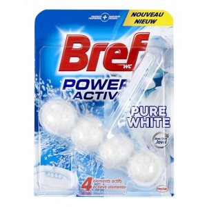 Bref WC Power Activ Pure White 50g