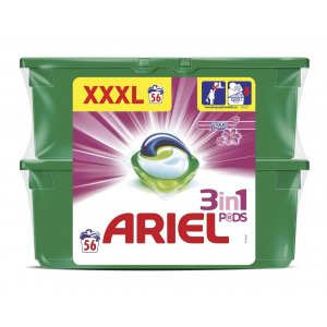 Ariel Touch of Lenor Fresh gélove tablety na pranie XXXL 56ks