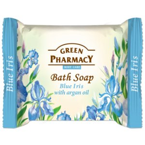 Green Pharmacy Blue Iris with Argan Oil toaletné mydlo 100g
