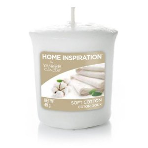 Yankee Candle Soft Cotton vonná sviečka 49g