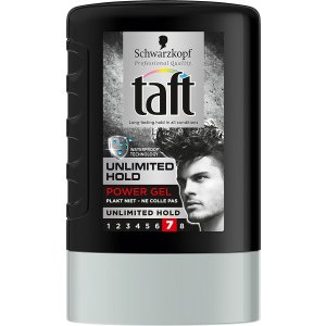 Taft Unlimited Hold 7  gél na vlasy 300ml