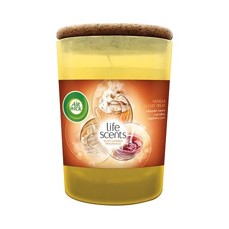 Air Wick Life Scents Vanilla Bakery Treat sviečka 185g