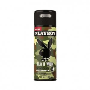Playboy deodorant 150ml P - Play It Wild Skin Touch