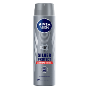 Nivea Men Silver Protect Antibacterial deospray 200ml