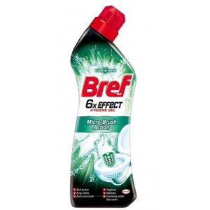 Bref Micro-Brush Action 6xEffect WC čistič 750ml