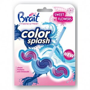 Brait Sweet Flowers WC blok Color Splash 45g