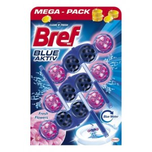 Bref Blue Aktiv Fresh Flowers 3x50g