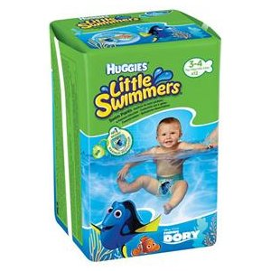 Huggies plienky Little Swimmers 11 ks - Dory 12-18 kg