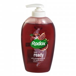 Radox tekuté mydlo 250ml - Feel Ready Pomegranate and Red Apple Scent