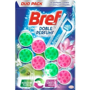 Bref Perfume Switch Floral Apple Water Lily 2x50g