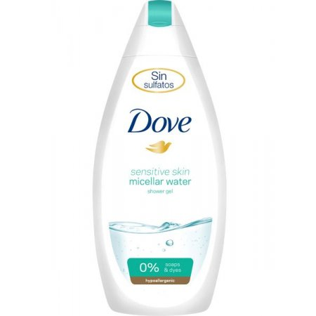 Dove Sensitive Micellar Water sprchový gél 500ml
