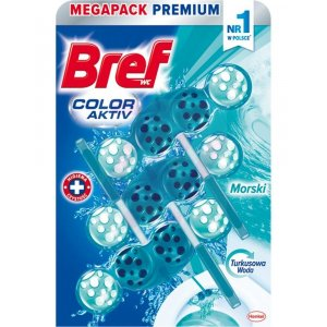 Bref Blue Aktiv Ocean záveska do WC 3x50g