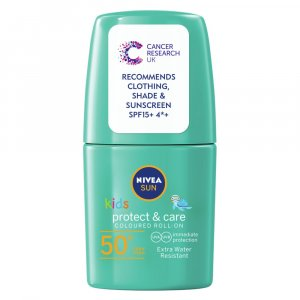 Nivea Sun roll-on Kids F50 50ml (zelené)