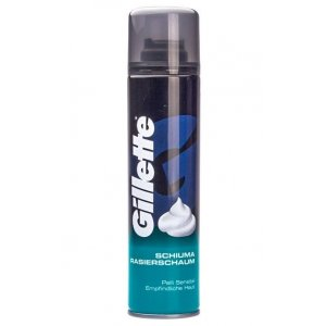 Gillette pena na holenie 300ml Sensitive