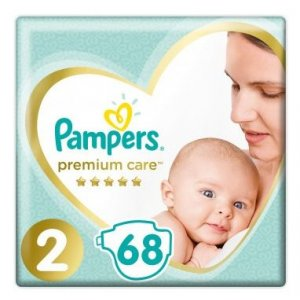 Pampers Premium Care  4-8kg veľ.2 68ks
