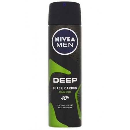 Nivea Men Deep Black Amazonia deospray 150ml