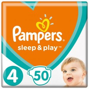 Pampers Sleep&Play 9-14kg veľ.4 50ks