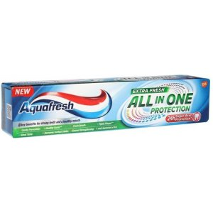Aquafresh zubná pasta All in One Extra Fresh 75ml