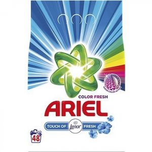 Ariel prací prášok 3,6kg na 48 praní Touch of Lenor Color
