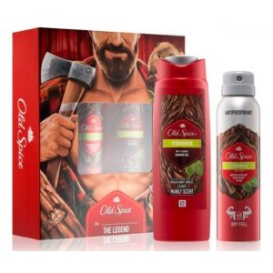 Old Spice Timber darčekový set 2ks (deo150ml+sprch.gél 250ml)