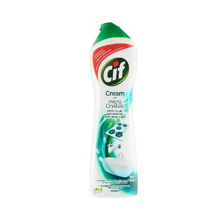 Cif Cream Green Mint Eucalyptus tekutý piesok 500ml