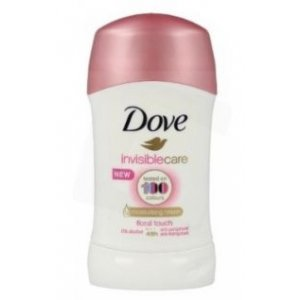 Dove Invisible Care tuhý dámsky deodorant 40ml